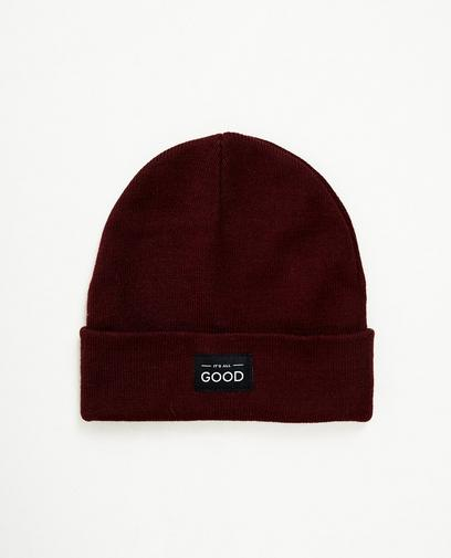 Beanie à inscription
